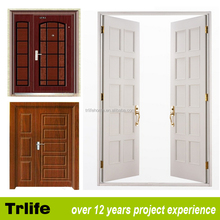Trlife ED-3 pvc bathroom door price/wooden double entry door/bedroom door designs pictures