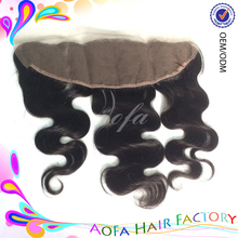 AAAAAAA grade 100% Cambodian Virgin Human Hair Full Lace frontal Closures