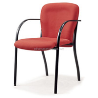 New Red Waiting Room Office Chairs, Reception Side Guest Chair, Visitor Office Chairs HY1038-1