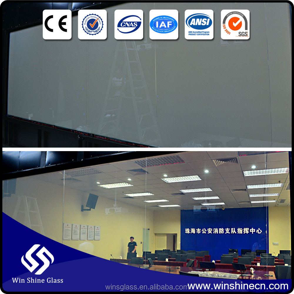 Smart film (with adhesive or non-adhesive ) for window glass stick