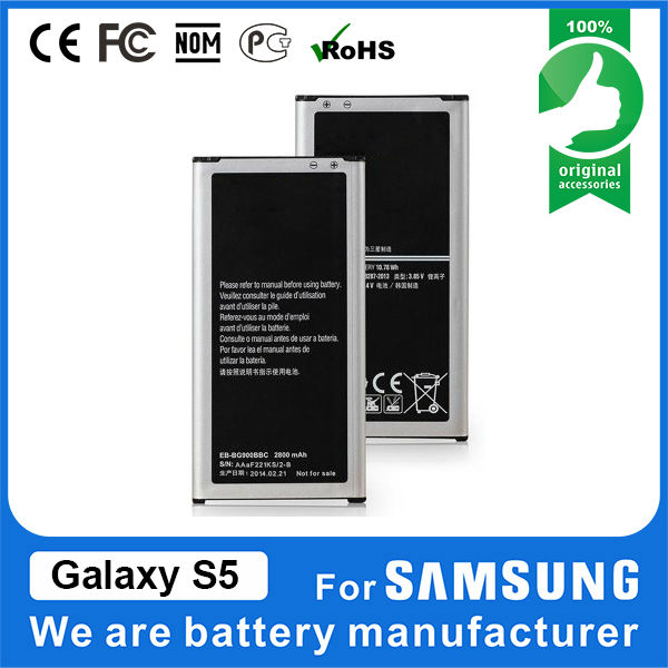 wholesale OEM galaxy s5 i9600 battery for phone samsung