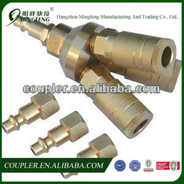 3-Way Universal Quick Connect Air Tool/Air Quick Coupler/Manifold