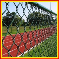 Chain link fence extensions/Chain link fence barbed wire/PVC coated chain link fence