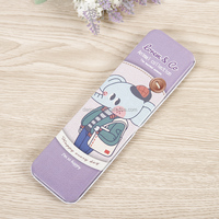 Website business bulk office and wholesale school supplies customized metal tin pencil cases