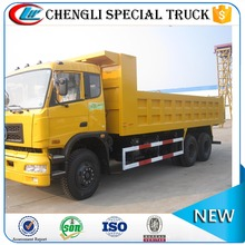 ISO certification DongFeng 6x4 heavy dump trucks 8 ton