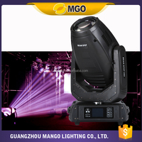 Custom made promotional 280W R10 Sharpy Beam Moving Head dj lights for stage