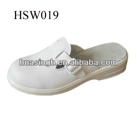 XM,waterproof leisure style off-duty wear white clog/slipper home cooking sandals