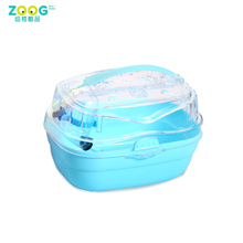 carry the pet cage wih handle hamster cage
