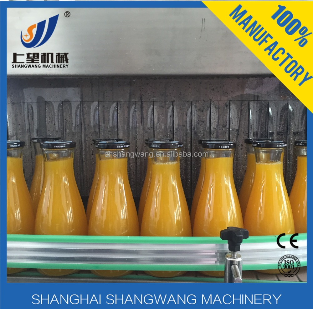 juice processing machine/small juice plant/beverage production line