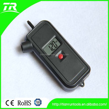 2 in 1 mini digital tire pressure gauge with tread