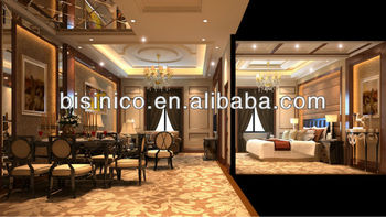 Luxury 3D interior and exterior design