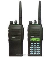 Handheld vhf uhf walkie talkie two way radio gp338