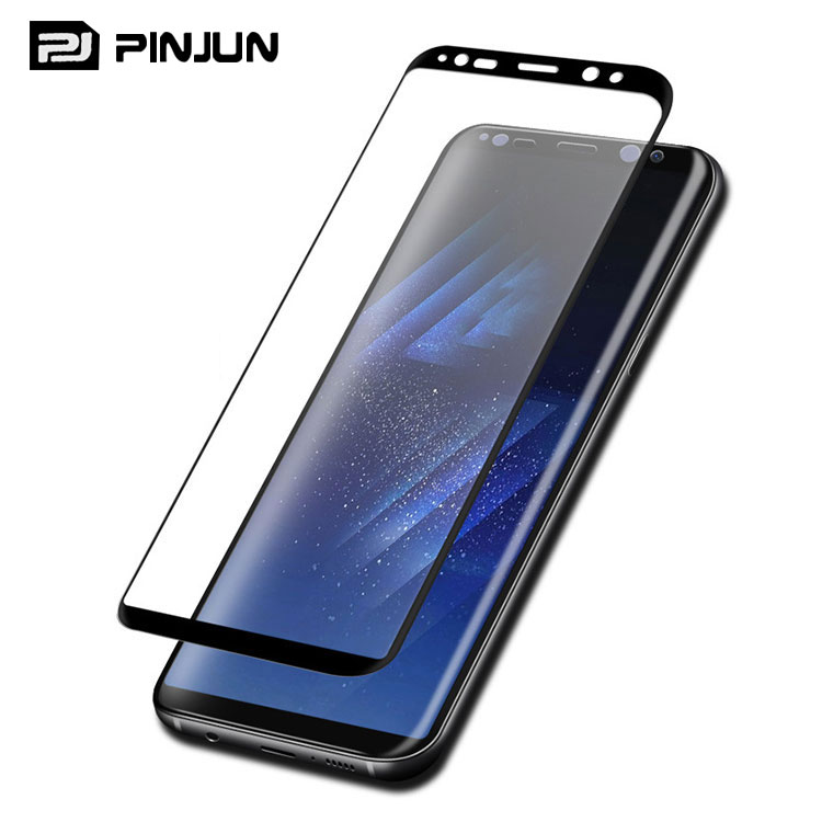 Case Version 3D Curved edge for samsung galaxy s8 plus glass film,for galaxy s8 plus screen protector tempered glass