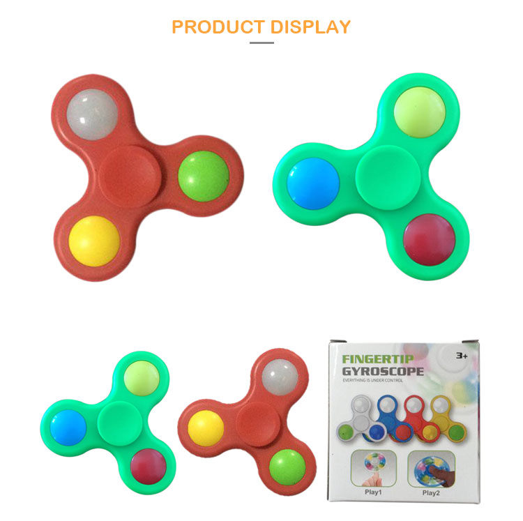 HY-1516 Wholesale fidget spinner, fidget toys for adults, spinning top