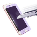 Tempared glass film for iphone7 9 H screen protector for iphone7 4.7 inch purple screen protector for iphone7 anti-fingerprint