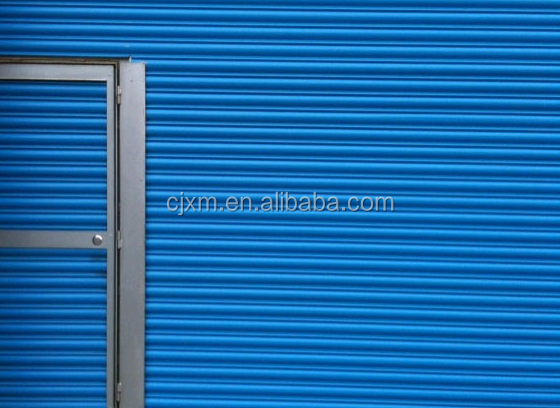 Colorful and Strong Stainless Steel Fire Rated Galvanized Garage Steel Roll Down Door