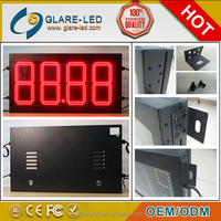 traffic light high brightness large viewing petroleum price led screen