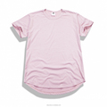wholesale t shirt, 100 cotton export quality plain curved hem t shirt,mens longline scoop bottom t shirt