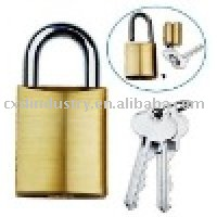 replaceable cylinder padlock,rekeyable padlock 570,C4 keyway