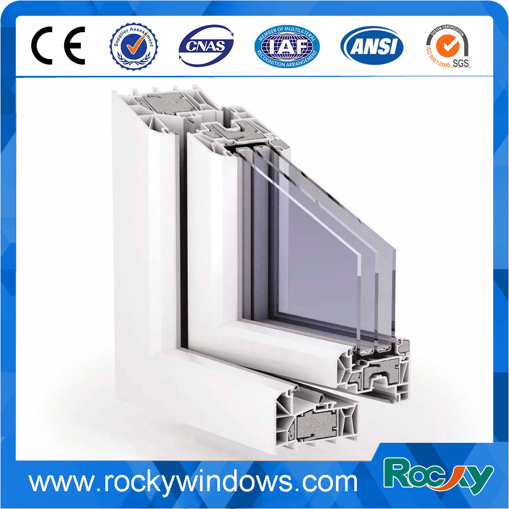 Plastic Profiles Type pvc door and window profile