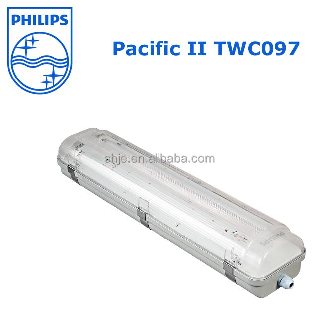 Philips Waterproof Luminaire Pacific II TCW097 TLD 1*18W/36W/58W IP65