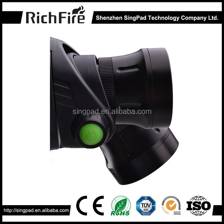 2016 hot sale 3-Mode zoom convex lens Cool White light <strong>led</strong> head torch