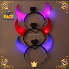 Light Devil Horns Hair Band for party