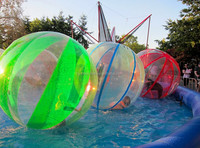 PVC/TPU inflatable clear water ball, inflatable mega ball,inflatable fabric covered ball