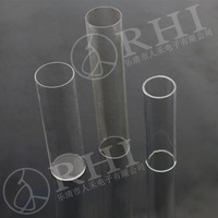 see-through plastic tube large diameter acrylic tube