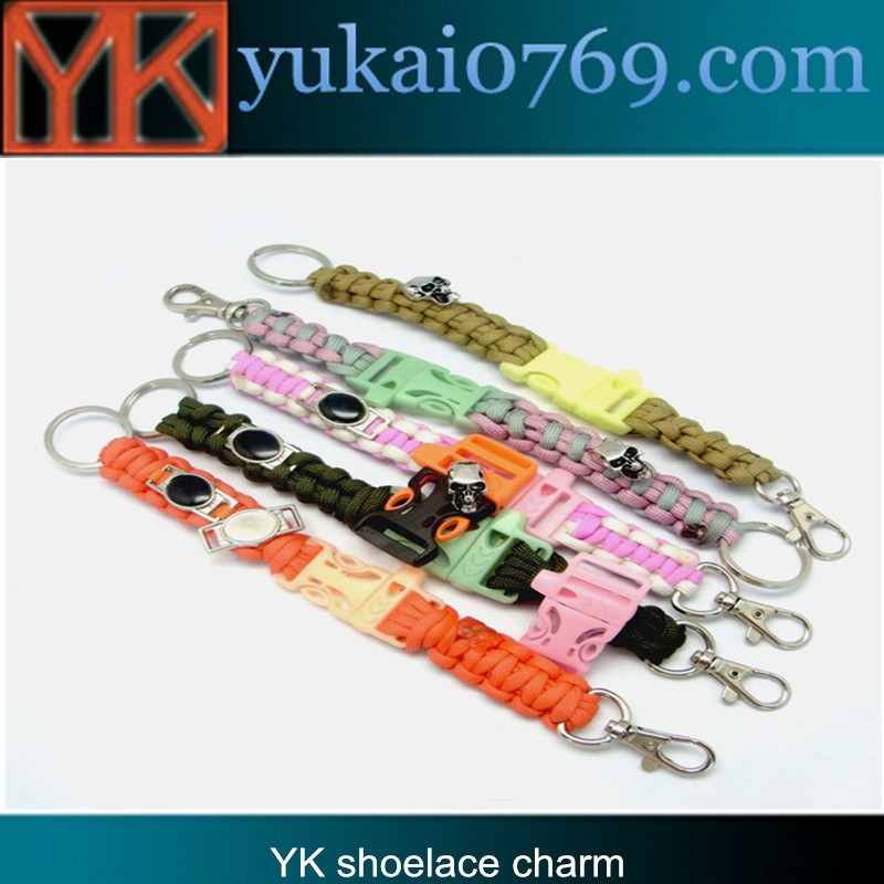 metal dog tag,metal paracord shoelace charm,newst decorative shoelace charms