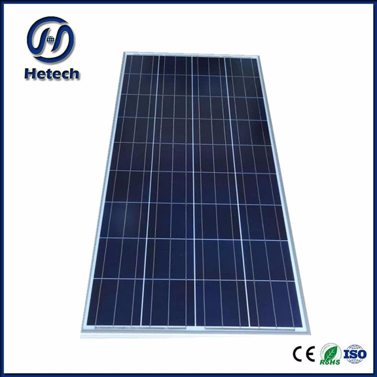 customized size design 130 watt poly solar panels for home