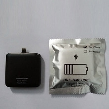 One Time Use Mobile Charger Disposable Powerbank 1000mAh