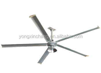 78 inch big power industrial ceiling fan, saving electric power
