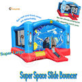 Happyhop inflatable bouncy castle 9212N--giant inflatable space bouncer slide