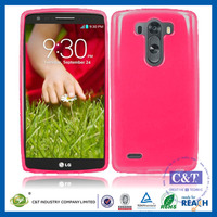 C&T New wholesale mobile phones soft tpu matte back case cover for lg g vista 2