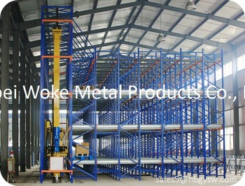 Warehouse Shuttle Pallet Racking
