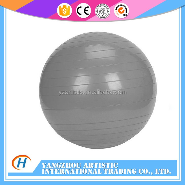 Wholesale PVC yoga ball with hand pump small pvc inflatable ball