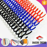 High Quality office and school supply plastic spiral binding material binding supplies plastic binding spiral coil