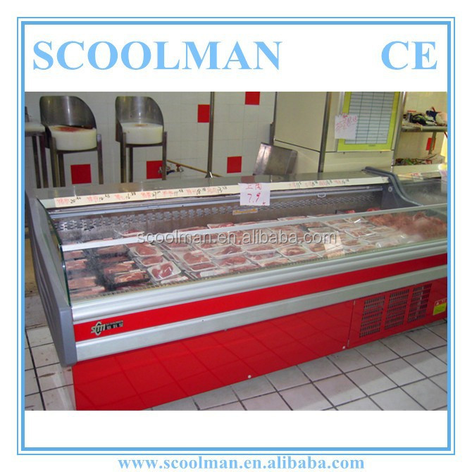 Open Type Meat Display Refrigeration Equipement