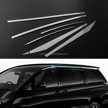 High Quality Car Exterior Accessories Stainless Steel Chrome Window Trim for ESTIMA 2007-2017