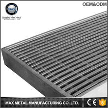 Free sample MOQ=10pc floor drain drainage grille kitchen street road construction floor grating for drainage pipe