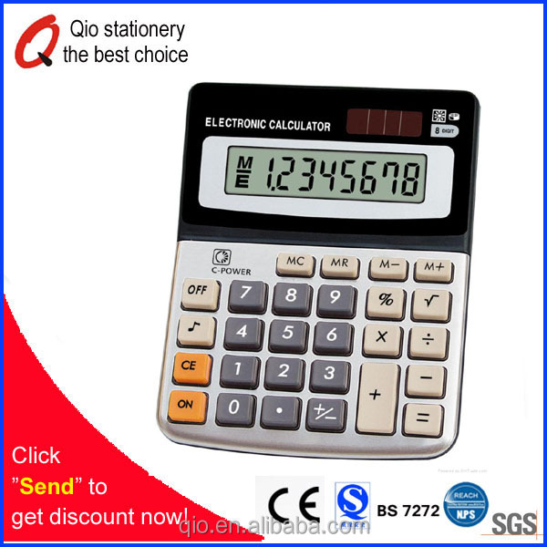 office supply business electronic calculator dual power calculator 12 digits