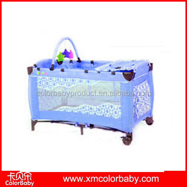 New Design BP606A portable plastic luxury baby crib