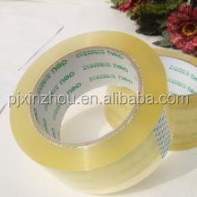High Sticky Clear/Brown plastic self adhesive tape for carton sealing