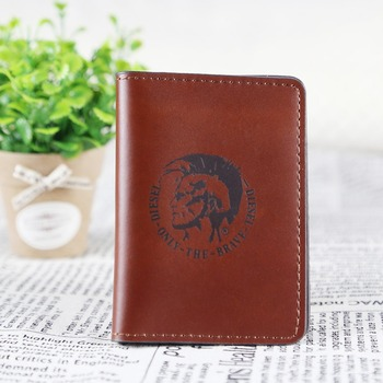 Best Selling Simple Design Portable leather credit card holder from China
