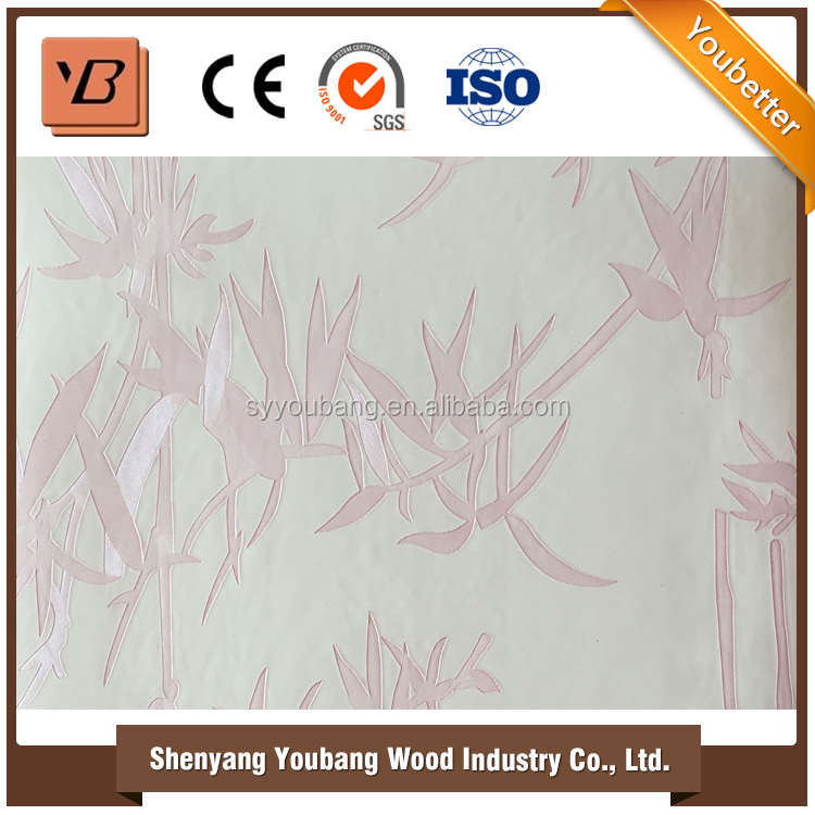 2016 Fashionable hot Sale china interior pvc wall panel, pvc ceiling wall panel decorative door panel