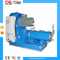 dyno water based paint production bead mill machine
