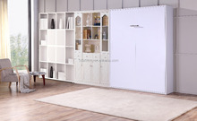 Queen Size Folding Down Wall Cabinet Murphy Bed