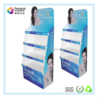 Sunscreen Cream Paper Cosmetic Store Shelf