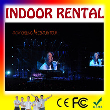 video china led video display : pantalla electronic. flexible pantalla P10 para escenarios y videos
